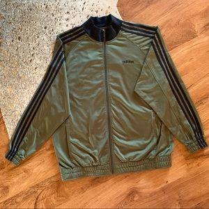 Adidas Originals track jacket green XL #439